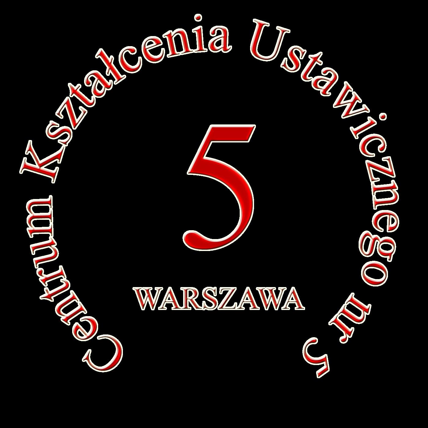 Logo CKU5 Warszawa